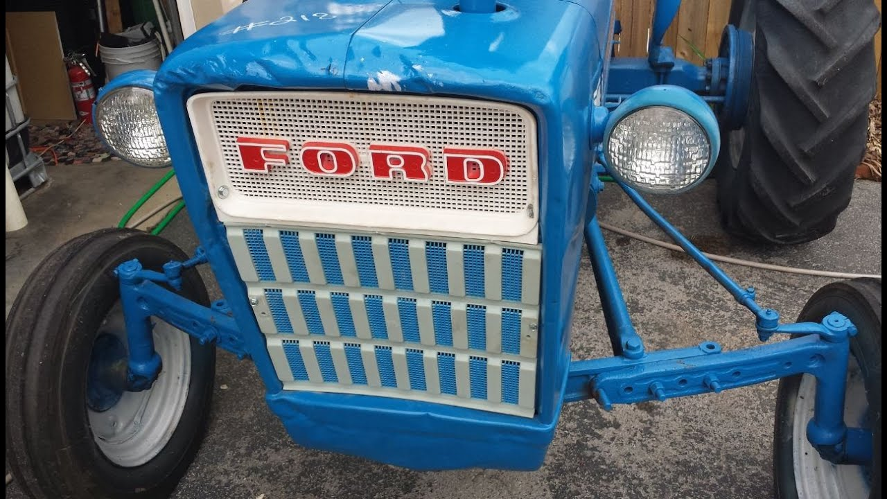 Ford 3000 Diesel Tractor Grill : My ford gas tractor youtube