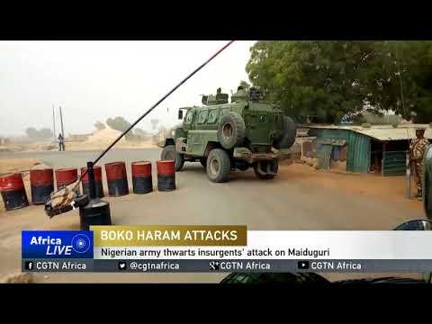 Nigerian army thwarts insurgents attack on Maiduguri