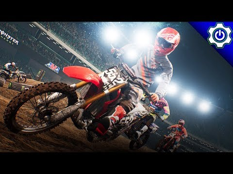 Monster Energy Supercross The Game - First Look! - Career Mode Ep. 1