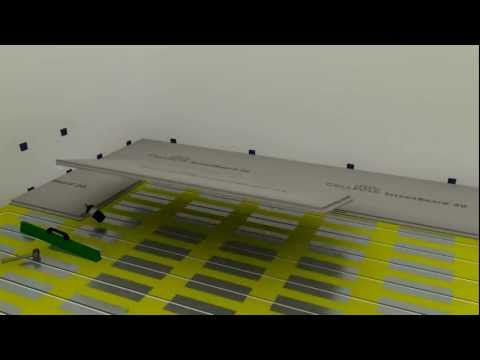 How to Install acoustic flooring with high performance ScreedBoard dry screed boards