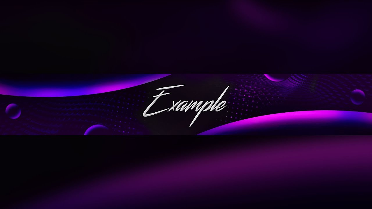 New Free 2018 Youtube Banner Template