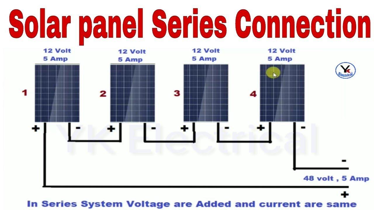 Solar Panels Series Connection