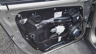 How to Remove Mercedes Front Door Panel ML350 W164