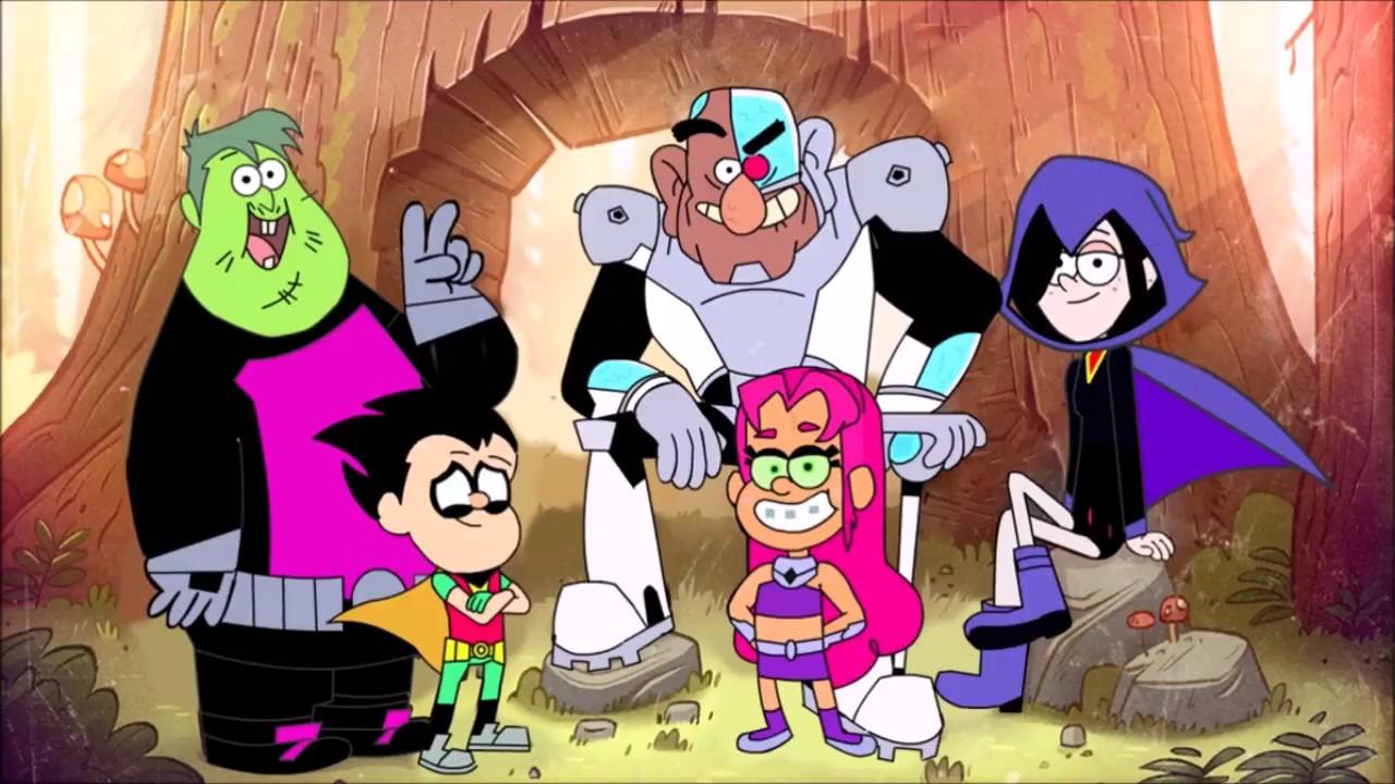 Teen Titans Go Color Swap Transforms Gravity Falls