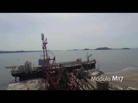Consórcio TTP76 - Lifting Módulos integração P76 - Unidade Offshore Techint - MEGA PROJECTS