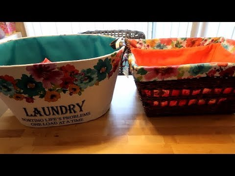 Pioneer Woman's New Laundry Baskets!!