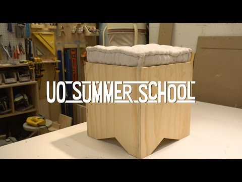 DIY Ottoman Building – UO Summer School