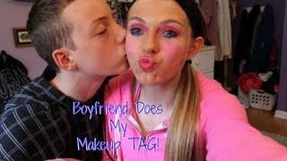 Boyfriend Does My Makeup TAG! Thumbnail