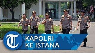 Jarang Terekspos Media saat Masuk Istana, Kini Giliran Kapolri Tito Karnavian Temui Presiden Jokowi