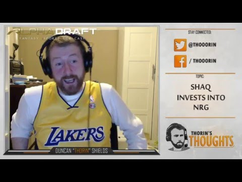 Thorin's Thoughts - Shaq Invests into NRG