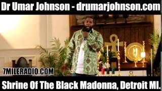 Dr Umar Johnson - Shrine of the Black Madonna Pt1