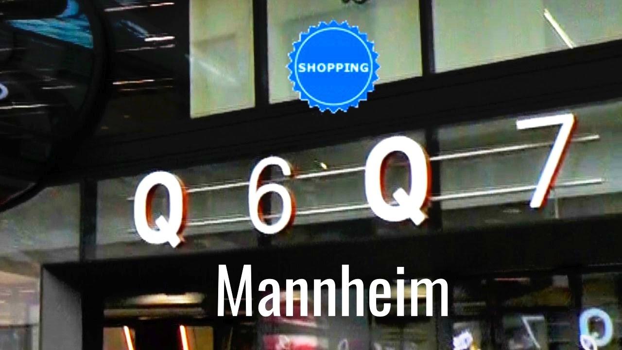 Shopping Mannheim