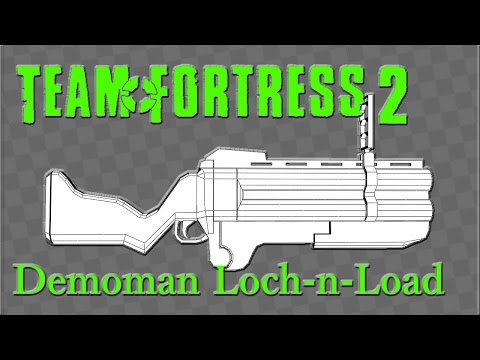 TF2 Demoman Loch n Load papercraft download.