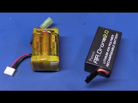 "Making a ""DIY"" Lipo Battery Pack (for an AR  Drone) - Ec-Projects"