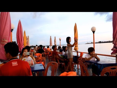 Thailand Travel - Boat trip in mekong river