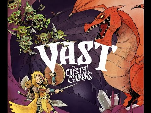 Vast the crystal caverns - regole e playthrough completo