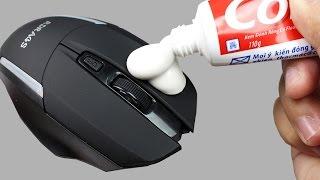 6 Truques com a pasta de dentes