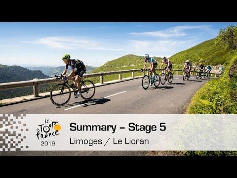 Summary – Stage 5  – Tour de France 2016