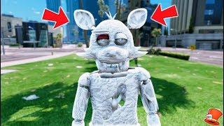 BRAND NEW DIAMOND FOXY ANIMATRONIC DISCOVERY! (GTA 5 Mods For Kids FNAF RedHatter)