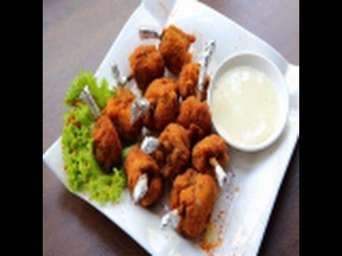 Куриные крылышкиБон Бон с сырно-чесночным соусом