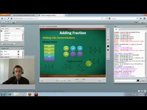 Introduction to Adding and Subtracting Fraction M1 EP Math 2011-11-16
