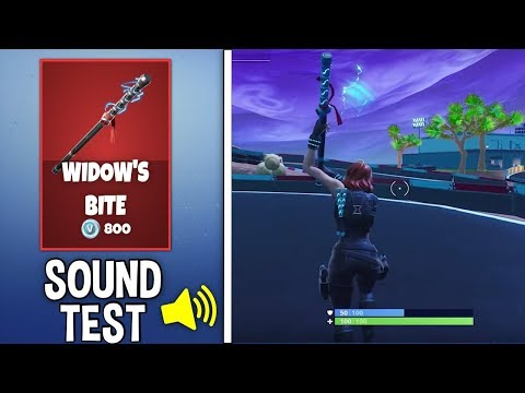 New WIDOWS BITE Pickaxe Sound And Review!