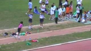 第十一屆全港小學區際田徑比賽 ( 九龍西區- 跳遠 破大會記錄 成績3咪93)