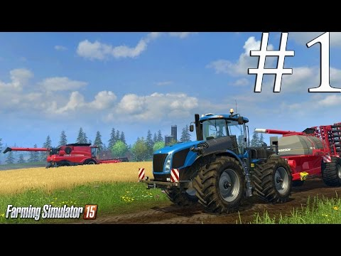 Farming Simulator 15 ч1 - Новая ферма
