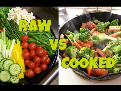 Raw Food Diet vs Organic Cooked Food Diet, whats better?
