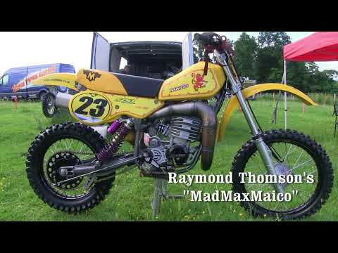 """Classic Dirt Bikes """"The best bikes from the Paddock"""" 2017 Part 1"""