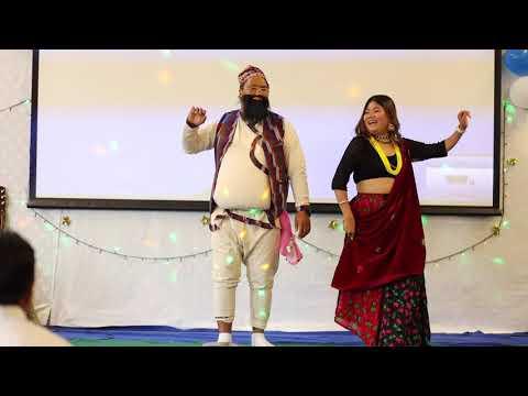 Nepali Christmas Comedy Dance Raju Dai And Susmita 2019