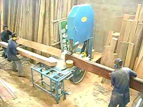 Sierra sin fin o aserradora youtube - Sierra para cortar madera ...
