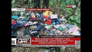 QRT: Mga sundalo at umano'y NPA, nagbakbakan; isang rebelde patay, isang sundalo sugatan