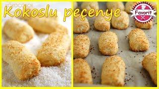 🔵 Kokoslu peçenye hazırlanması | peçenye reseptləri | Asan və dadlı peçenye |
