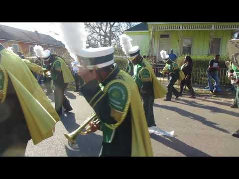 Concordia College Marching Band (2018) Mardi Gras Parade Mobile Alabama