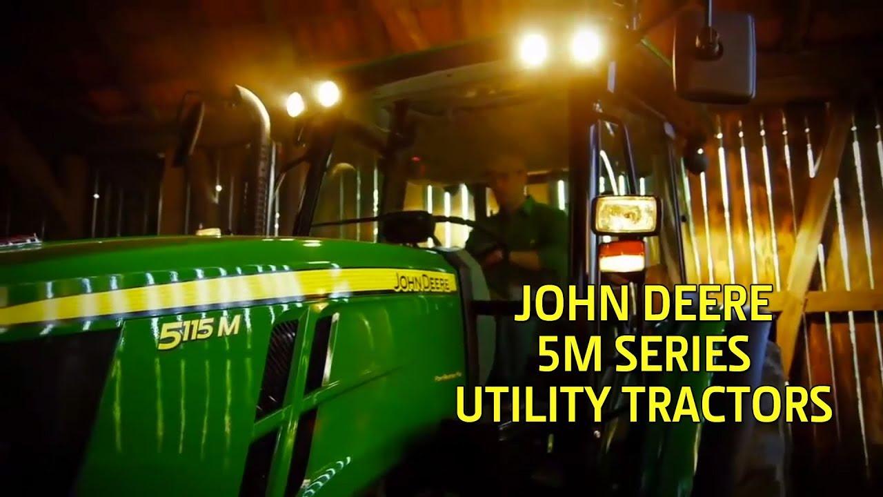 John Deere 5115R 115-hp Utliity Tractor