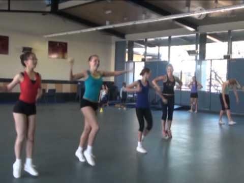 2013 GymNSW Aerobic State Team Training