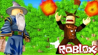 WIZARDS IN ROBLOX! (Roblox Elemental War)