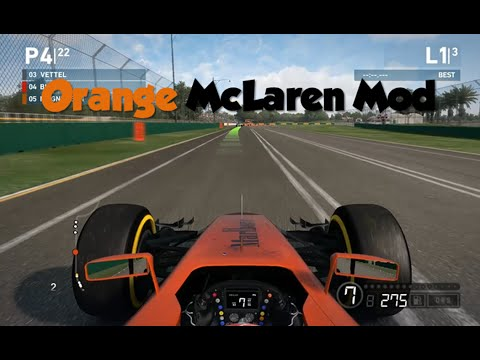 F1 2014- Orange McLaren Mod