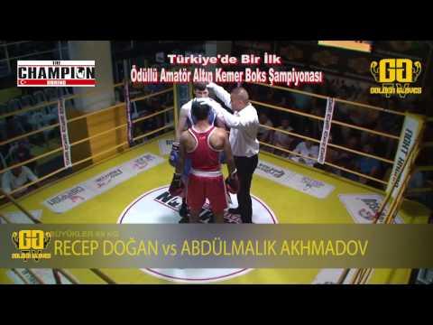 6  Maç Recep Doğan vs Abdülmalik Akhmadov | 3. Gün - The Champion Boxing | Eyüp Kuşçu Group