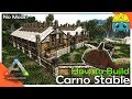 how to build carno stable ark building w fizz no mods