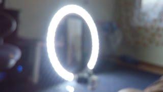 Кольцевой свет своими руками. Светодиодный прожектор. Как сделать кольцевое освещение для фото.(Светодиодный круг своими руками. Кольцевой свет. Как сделать Светодиодное кольцо для фото и видео. светодио..., 2016-05-24T17:56:40.000Z)
