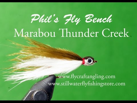Thunder Creek Flies: Tying and Fishing the Classic Baitfish Imitations
