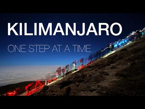 KILIMANJARO - one step at a time