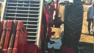 Farmall 1206 Breaks in Half when flywheel Explodes