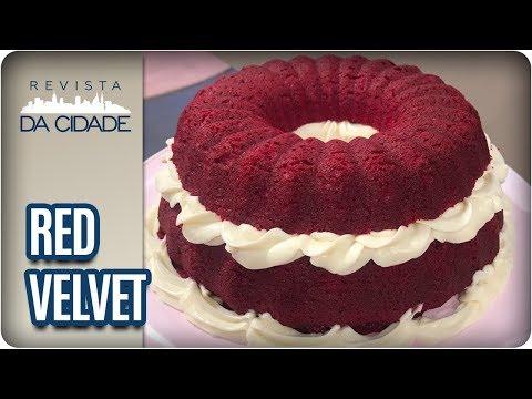 Receita De Red Velvet - Revista Da Cidade (09/03/18)