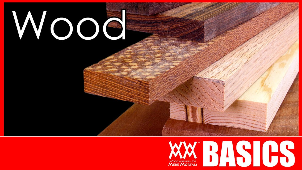 What Kind Of Wood Should You Build With Woodworking Basics Youtube