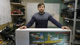 Начинаю собирать огромный океанский буксир - Happy Hunter