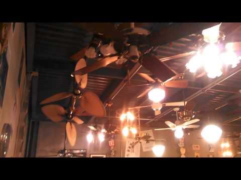 UPDATED Video Tour of the Fanimation Fan Museum, Upper Level FAN DEMONSTRATIONS