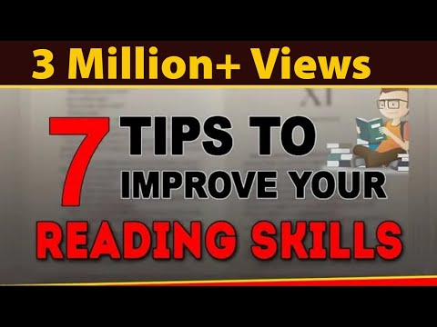 How to Improve Reading Skills | 7 Speed Reading Techniques | Exam Tips | LetsTute